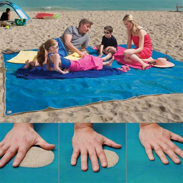 Outdoor Beach Blanket Sand-Free Mat