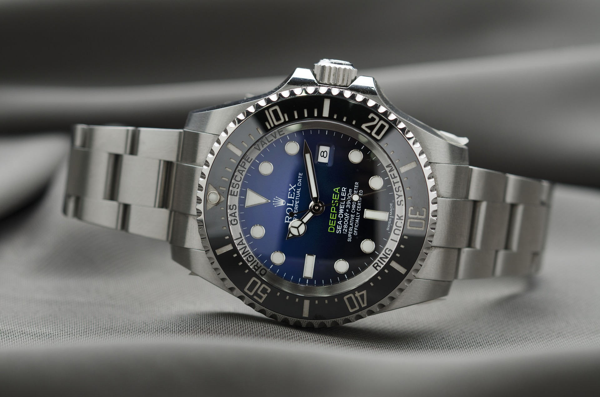 Eight Luxury Deep Dive Watches For Men